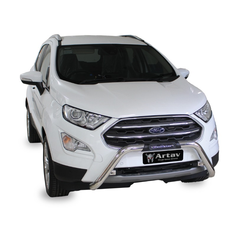 Ford EcoSport Facelift PDC Nudge Bar Stainless