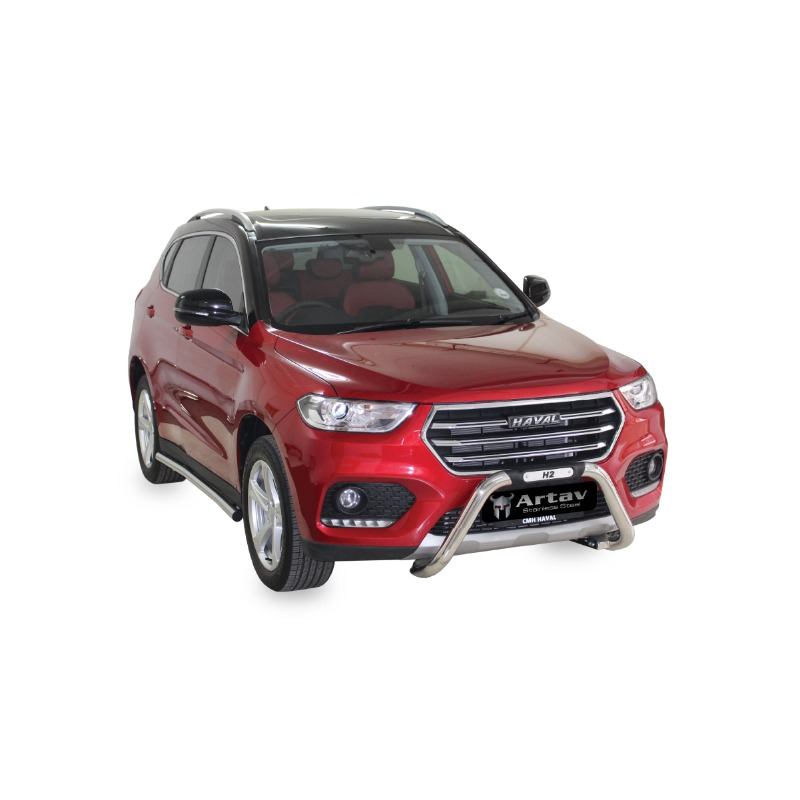 Haval H2 Facelift Nudge Bar Stainless