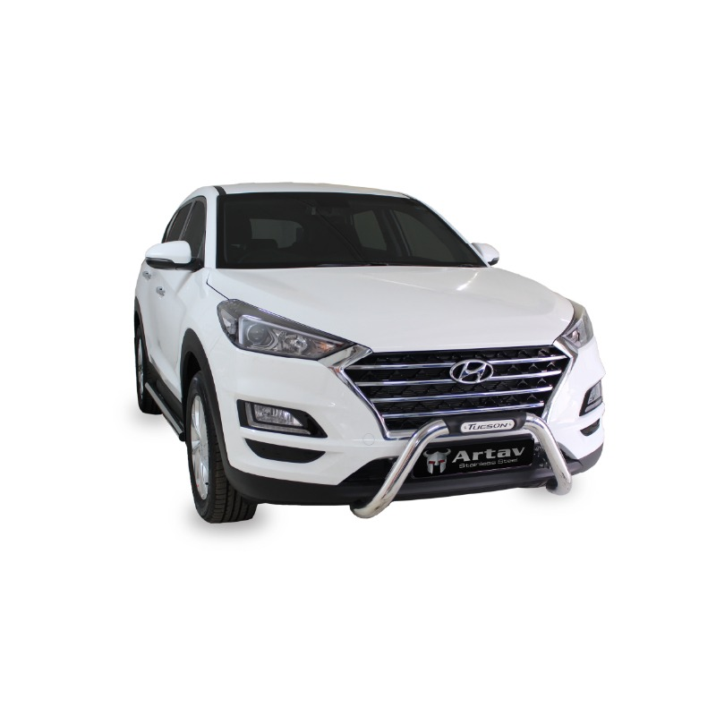 Hyundai Tucson Side Bars Stainless