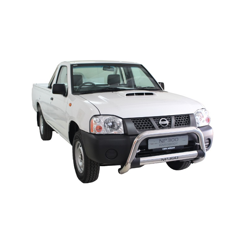 Nissan NP300 Nudge Bar Stainless (Fits SC and DC)