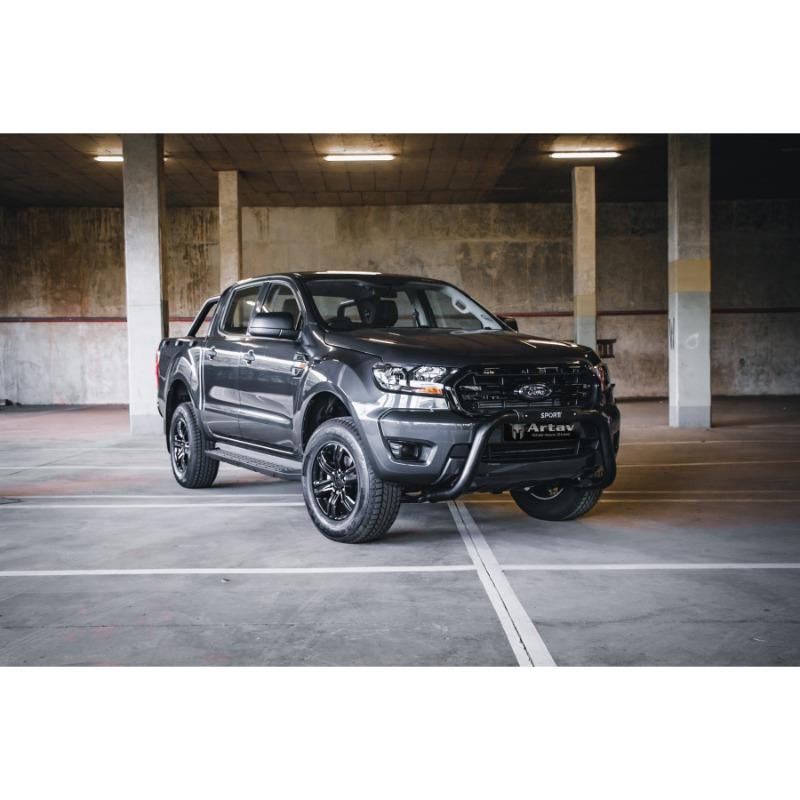 Ford Ranger & Everest SPORT PDC Nudge Bar Black
